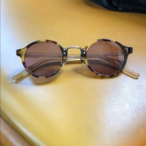 Oliver People's Rose Tinted Sunglasses